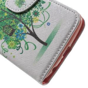 Wall peňaženkové puzdro pre LG K10 - strom - 7