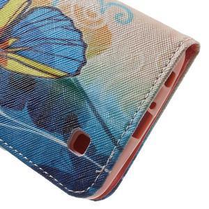 Wall peňaženkové puzdro pre LG K10 - motýľ - 7