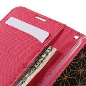 Style PU kožené puzdro pro LG K10 - rose - 7