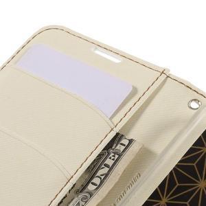 Style PU kožené puzdro pro LG K10 - biele - 7