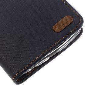 Style PU kožené puzdro pro LG K10 - čierne - 7