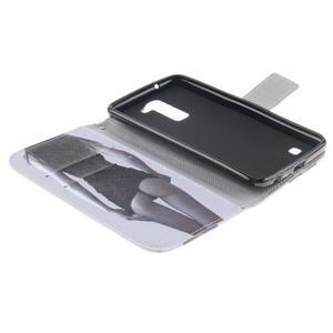 Peňaženkové puzdro pre mobil LG K10 - sexy dívka - 7