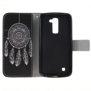 Peňaženkové puzdro pre mobil LG K10 - lapač snov - 7