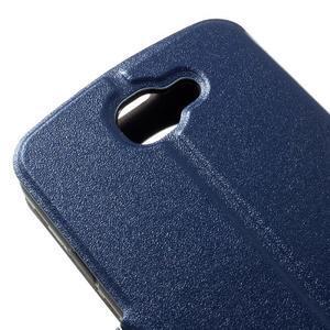 Trend pouzdro s okýnkem na mobil LG K4 - modré - 7