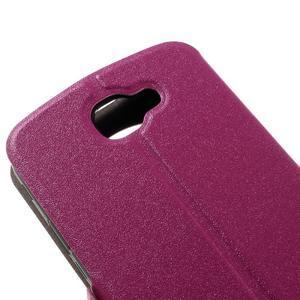 Trend pouzdro s okýnkem na mobil LG K4 - rose - 7