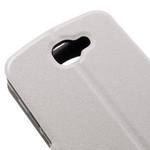 Trend puzdro s okienkom na mobil LG K4 - biele - 7