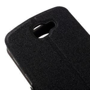Trend puzdro s okienkom na mobil LG K4 - čierne - 7