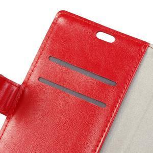 Sitt PU kožené pouzdro na mobil LG Zero - červené - 7