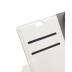 Wallet puzdro pre mobil Lenovo A1000 - bielé - 7