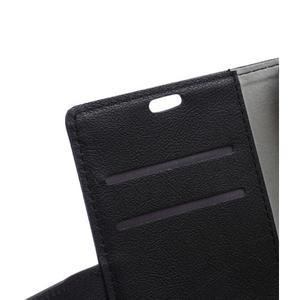 Wallet pouzdro na mobil Lenovo A1000 - černé - 7