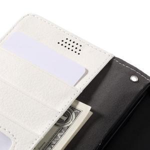 Funny peňaženkové puzdro pre mobil Microsoft Lumia 650 - biele - 7