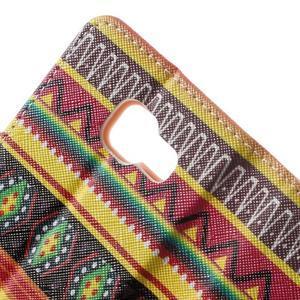 Peňaženkové puzdro na mobil Samsung Galaxy A3 (2016) - tribal - 7
