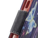 Peňaženkové puzdro na mobil Samsung Galaxy A3 (2016) - kouzelní motýlci - 7/7