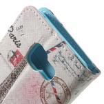Peňaženkové puzdro pre mobil Samsung Galaxy A3 (2016) - Eiffelovka - 7/7
