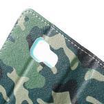 Peňaženkové puzdro pre mobil Samsung Galaxy A3 (2016) - kamufláž - 7/7