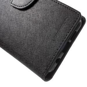 Goospery peňaženkové puzdro na Samsung Galaxy A3 (2016) - čierné - 7
