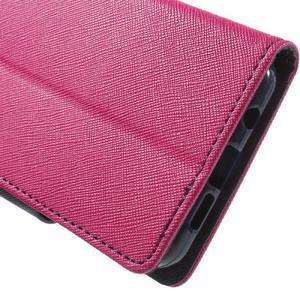 Goospery peňaženkové puzdro pre Samsung Galaxy A3 (2016) - rose - 7