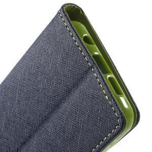 Goospery peňaženkové puzdro na Samsung Galaxy A3 (2016) - tmavo modré - 7