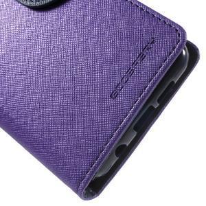 Goospery peňaženkové puzdro pre Samsung Galaxy A3 (2016) - fialové - 7