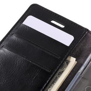 Mercury peňaženkové puzdro na Samsung Galaxy A3 (2016) - čierné - 7