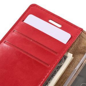 Mercury peňaženkové puzdro pre Samsung Galaxy A3 (2016) - červené - 7