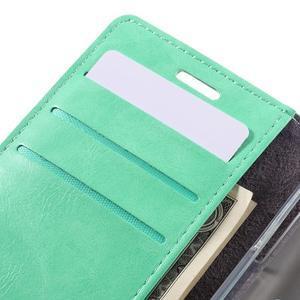 Mercury peňaženkové puzdro na Samsung Galaxy A3 (2016) - azurové - 7