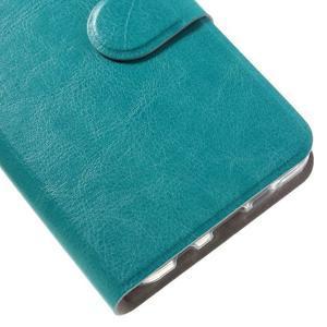 Horse peňaženkové puzdro na Samsung Galaxy A3 (2016) - modré - 7