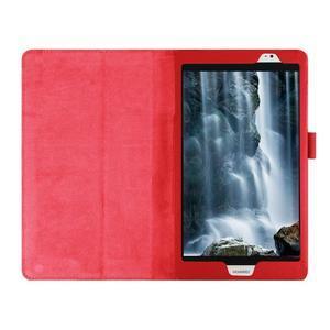 Safe polohovateľné puzdro na tablet Huawei MediaPad M2 8.0 - červené - 7
