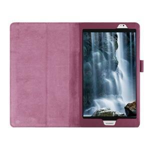 Safe polohovateľné puzdro na tablet Huawei MediaPad M2 8.0 - fialové - 7