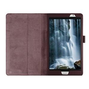 Safe polohovateľné puzdro na tablet Huawei MediaPad M2 8.0 - hnedé - 7