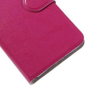 Horse peňaženkové puzdro pre mobil Microsoft Lumia 650 - rose - 7