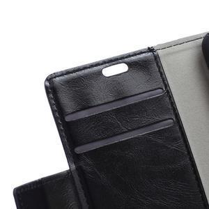 Fold peňaženkové puzdro na Microsofst Lumia 650 - čierné - 7