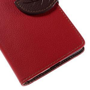 Blade Peňaženkové puzdro pre Sony Xperia M5 - červené - 7