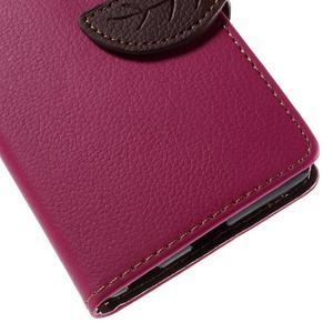 Blade Peňaženkové puzdro pre Sony Xperia M5 - rose - 7