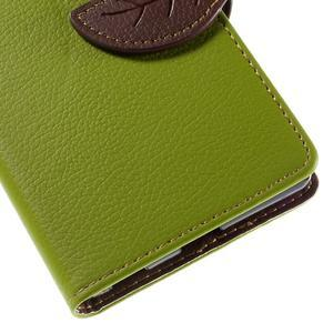 Blade peněženkové pouzdro na Sony Xperia M5 - zelené - 7