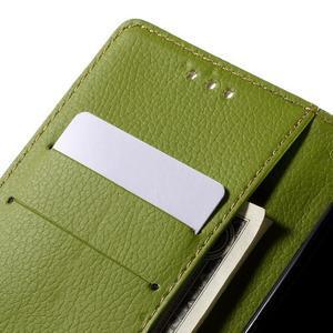 Blade peněženkové pouzdro na Sony Xperia M5 - hnědé - 7
