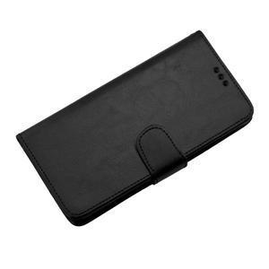 Horse PU kožené puzdro pre Sony Xperia M5 - čierne - 7