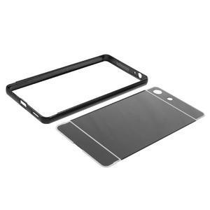 Kryt s kovovým obvodom pre Sony Xperia M5 - čierny - 7