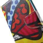 Stand peněženkové pouzdro na Sony Xperia M5 - abstract - 7/7