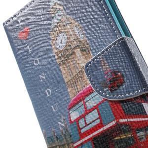 Stand Peňaženkové puzdro pre Sony Xperia M5 - Big Ben - 7