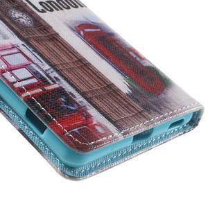 Stand peněženkové pouzdro na Sony Xperia M5 - UK Big Ben - 7