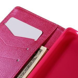 Crafty Peňaženkové puzdro pre Sony Xperia M5 - srdce - 7