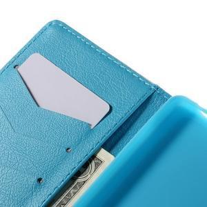 Crafty Peňaženkové puzdro pre Sony Xperia M5 - modrý slon - 7