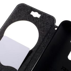 Peňaženkové puzdro s okýnkem na Asus Zenfone Selfie ZD551KL - biele - 7