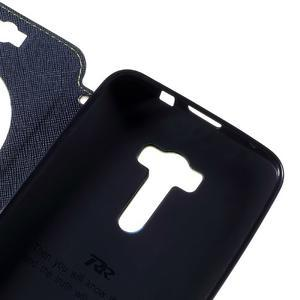 Peňaženkové puzdro s okienkom pre Asus Zenfone Selfie ZD551KL - zelené - 7