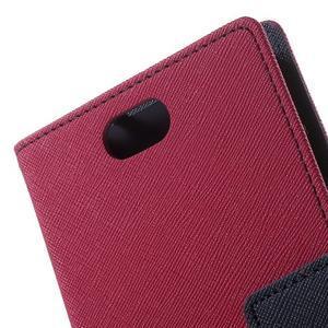 Mr. Goos peňaženkové puzdro pre Asus Zenfone Selfie ZD551KL - rose - 7