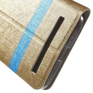 Lines puzdro na mobil Asus Zenfone Selfie ZD551KL - zlaté - 7
