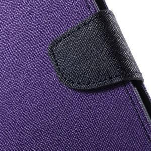 Mr. Goos peňaženkové puzdro na Asus Zenfone Selfie ZD551KL - fialové - 7