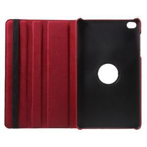 Otočné polohovateľné puzdro na Huawei MediaPad M2 - červené - 7