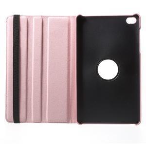 Otočné polohovatelné pouzdro na Huawei MediaPad M2 - růžové - 7